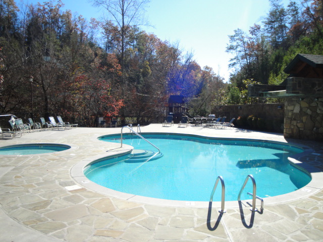 with pool rental tennessee decor cabins home