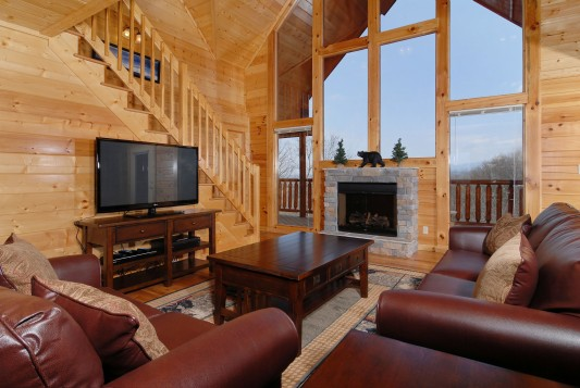 Pigeon Forge Big Cabin   A Smoky Mountain Escape ...